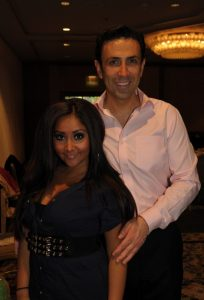 Dr. Ourian and Snooky from Jersey Shore